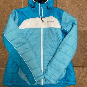 EUC women's Columbia jacket